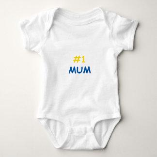 #1 mum best mother baby bodysuit