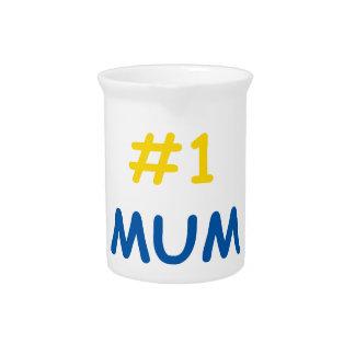 #1 mum best mother drink pitchers