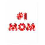 #1 Mum Mother's Day Post Cards