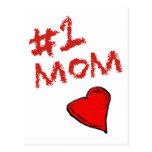 #1 Mum Post Cards