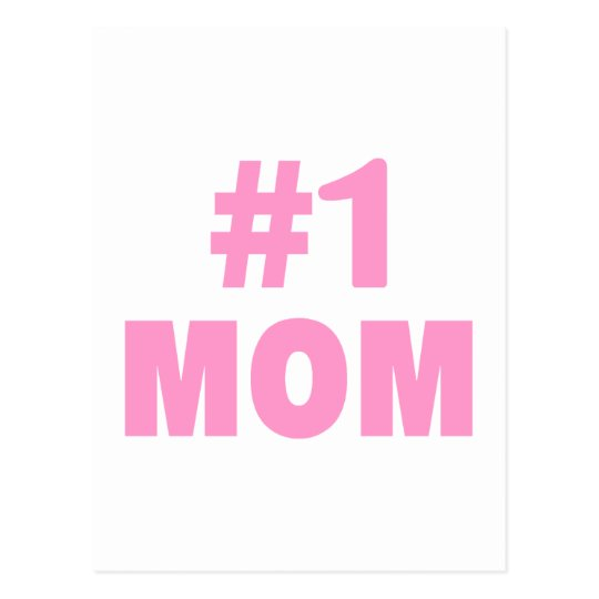 #1 Mum Postcard