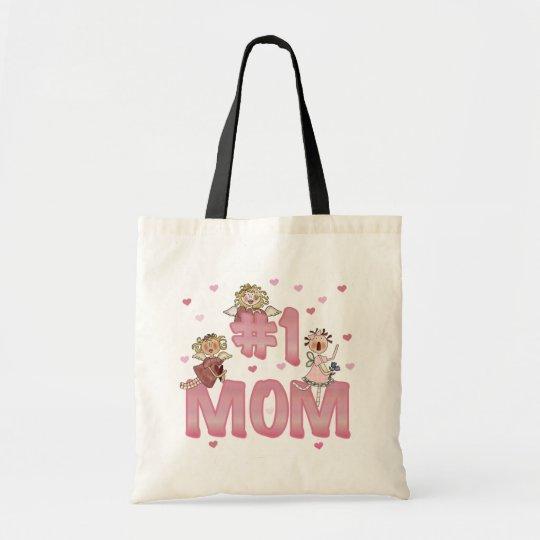 #1 Mum T-shirts and Gifts Tote Bag