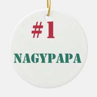 #1 Nagypapa Christmas Ornament
