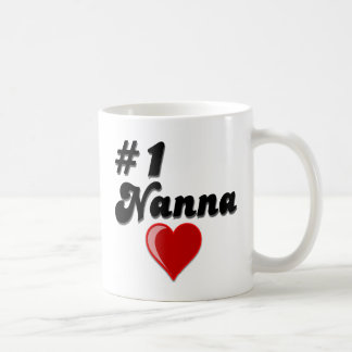 #1 Nanna Grandparent's Day Gifts Coffee Mug