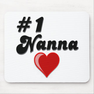 #1 Nanna Grandparent's Day Gifts Mouse Mat