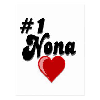 1 Nona - Celebrate Grandparent s Day Post Card