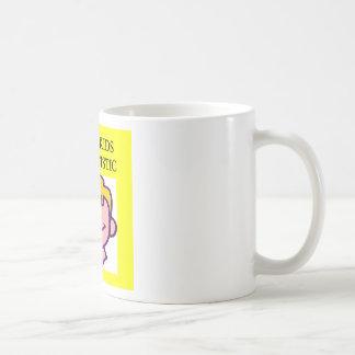 1 on 150 kids is autistics coffee mugs