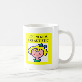 1 on 150 kids is autistics mug