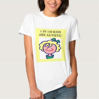1 on 150 kids is autistics tee shirt