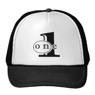 1 on one logo cap