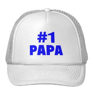 #1 Papa (Blue) Trucker Hat