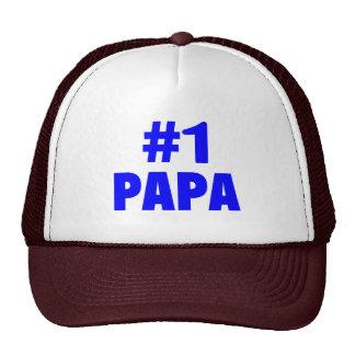 #1 Papa (Blue) Hats