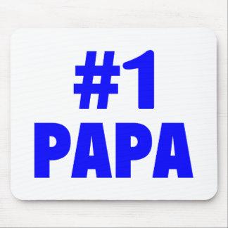 #1 Papa (Blue) Mouse Mats
