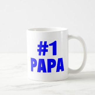 #1 Papa (Blue) Coffee Mug