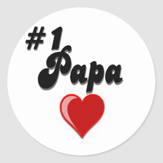 1 Papa - Celebrate Grandparent s Day Round Sticker