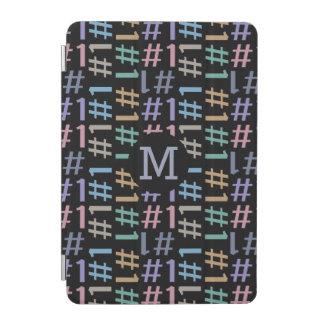 """# 1"" Pattern custom monogram device covers iPad Mini Cover"