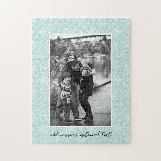 1 Photo with Farmhouse Tile Pattern and Text