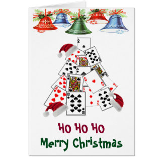 1 poker player to another Las Vegas Christmas Card