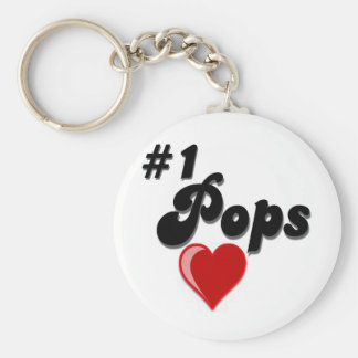 1 Pops - Celebrate Grandparent s Day Keychain