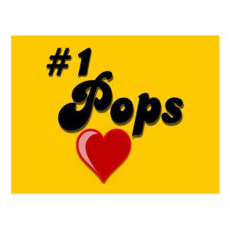 1 Pops - Celebrate Grandparent s Day Postcards