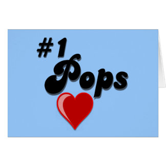 #1 Pops - Celebrate Grandparent's Day Card