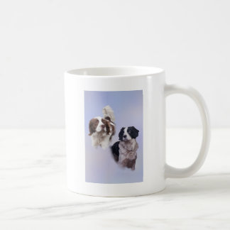 1 PRINT A4 Two dogs blue 19 x 13.jpg Coffee Mug