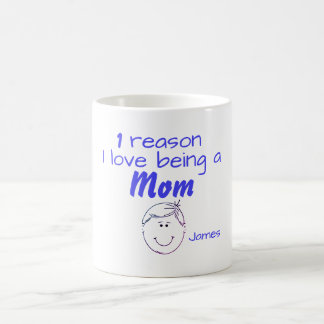 1 Reason I love being a Mom - Boy Coffee Mug