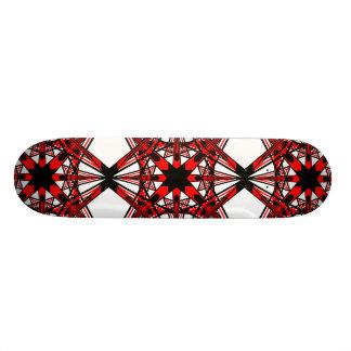 1 Red Alternate Skateboard Deck