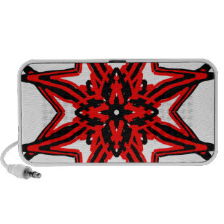 1 Red Transparent Travel Speaker