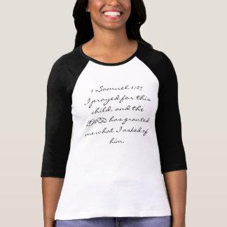 1 Samuel 1:27 T-Shirt