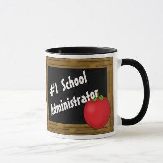 #1 School Administrator Mug
