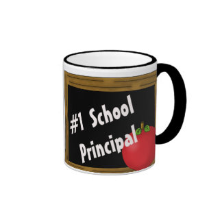 #1 School Principal Coffee Mugs