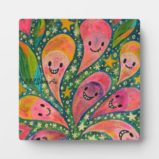 1 sections 1 in laughing flower acrylic picture plaque