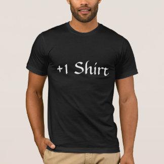 +1 Shirt Black Tee