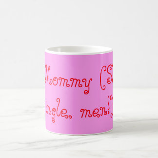 #1 single mom mug