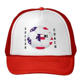#1 Soccer Coach Trucker Hat