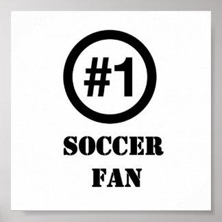 # 1 Soccer Fan Poster