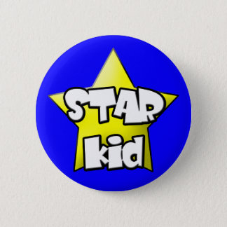 1 Star kid Button