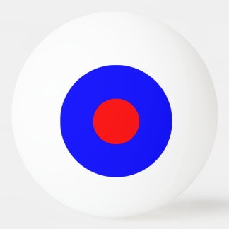 1 Star Ping Pong Ball – Blue and red.