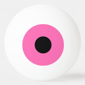 1 Star Ping Pong Ball – Pink and Black.