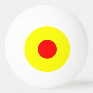 1 Star Ping Pong Ball – Yellow and Red.