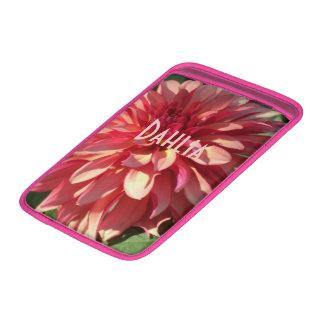 1 Starburst Pink Dahlia MacBook Air Sleeve