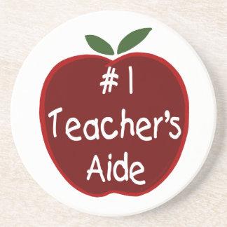 #1 Teacher Aide Coaster