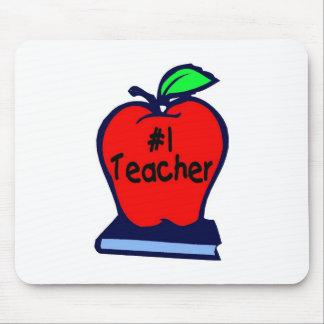1 Teacher Apple Books Mouse Mat