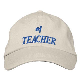 1 TEACHER EMBROIDERED HAT