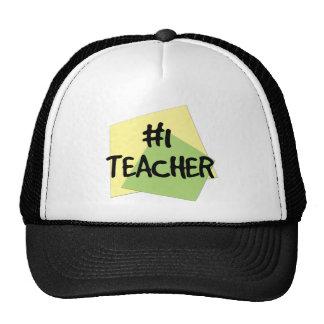 #1 Teacher Mesh Hat