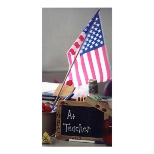 #1 Teacher Photo Card