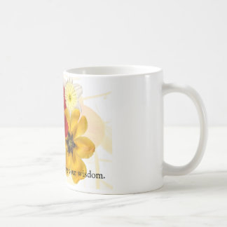1 Thank you for sharing your wisdom Basic White Mug