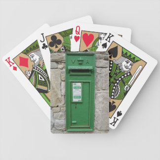 #1 Traditional Green Irish Post Box Cards