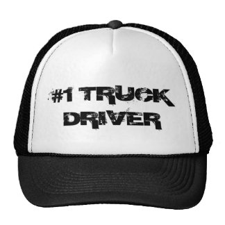 """#1 Truck Driver"" trucker hat"